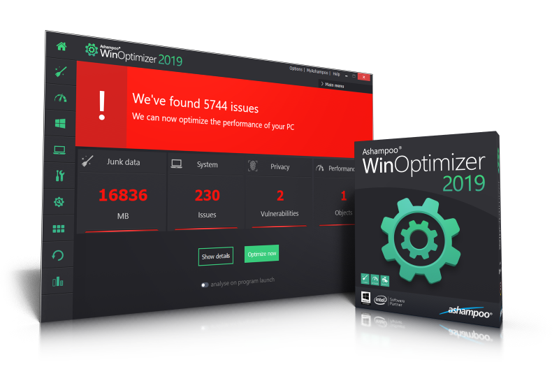 Ashampoo WinOptimizer download