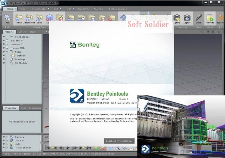Bentley Pointools Connect Edition 10 Free Download - Soft