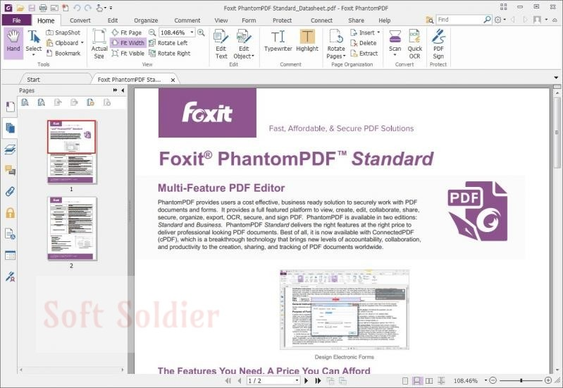 Foxit PhantomPDF Business free