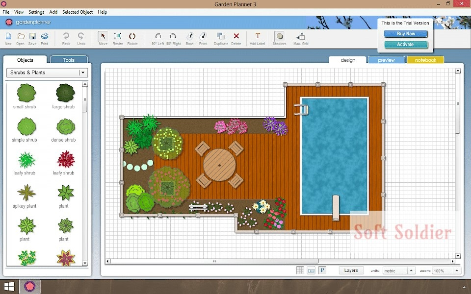 Interactive Garden Planner free download