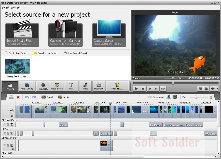 download Portable AVS Video Editor free