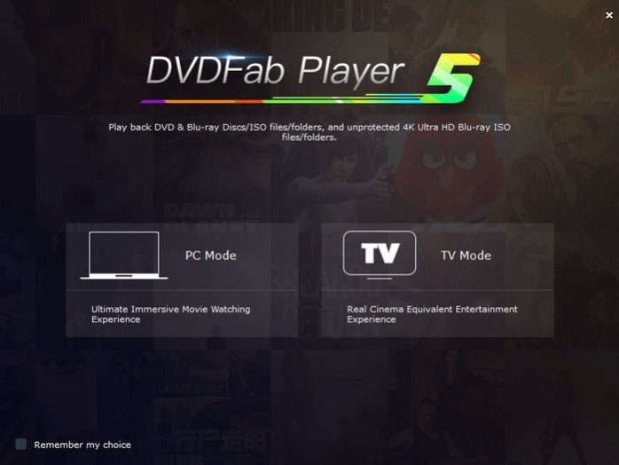 DVDFab Player Free download