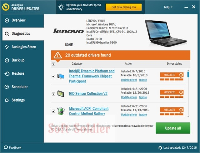 Portable Driver Updater 1.18 Download