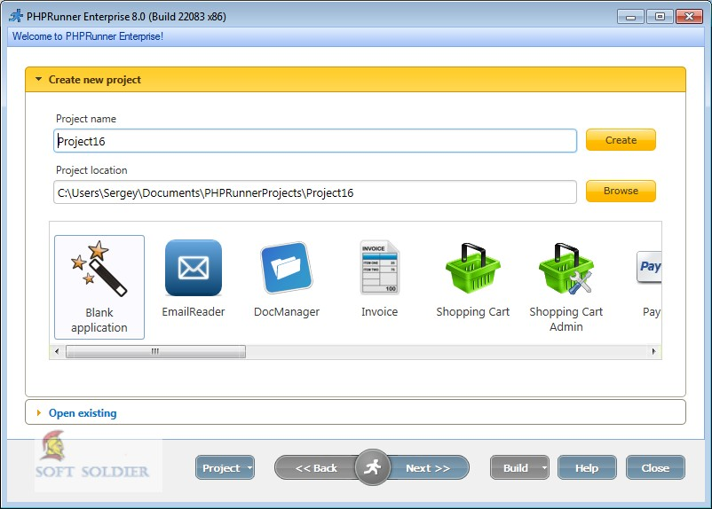 PHPRunner 9.0 Professional