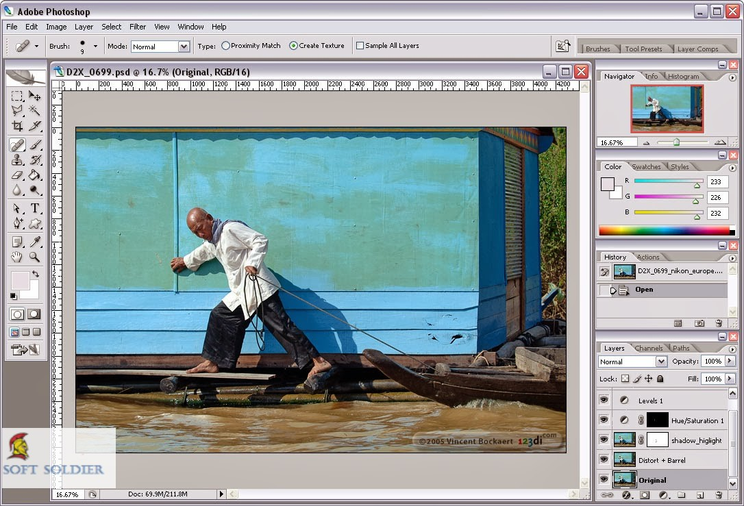 Adobe Photoshop 8.0 Free Download