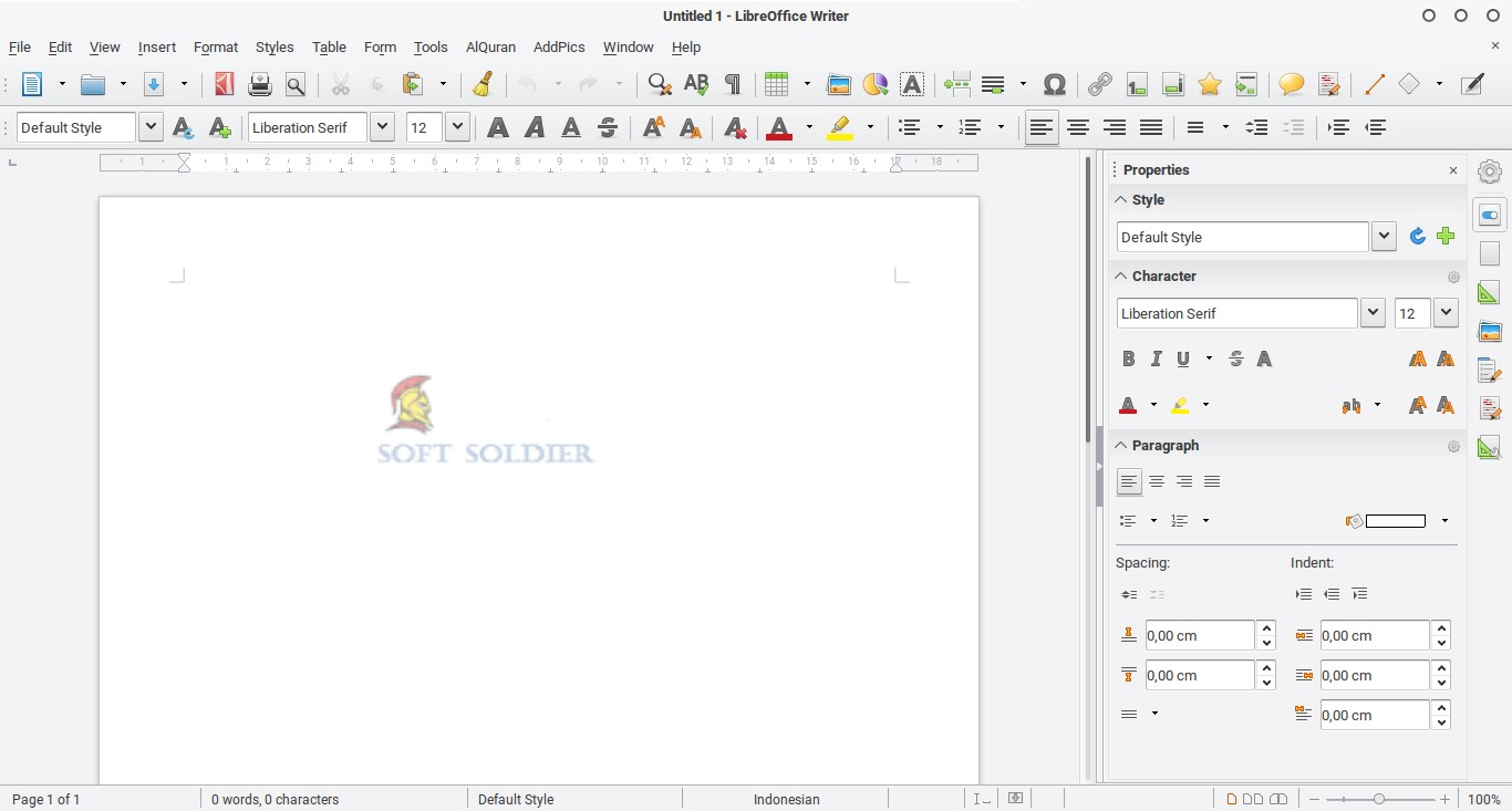 LibreOffice 6 2 Free Download - Soft Soldier
