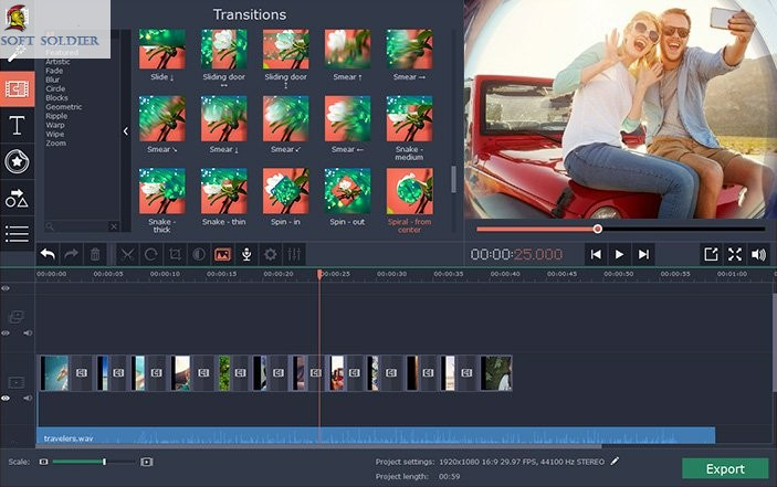 Movavi Video Editor Business 15.5