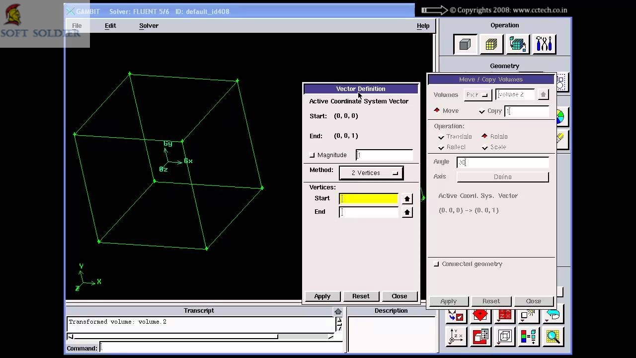 ANSYS GAMBIT 2.4