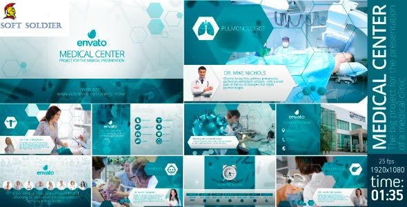 Videohive Medical Clinic After Effects Templates