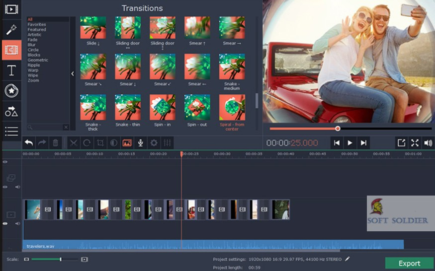 movavi video editor 15.5 Plus