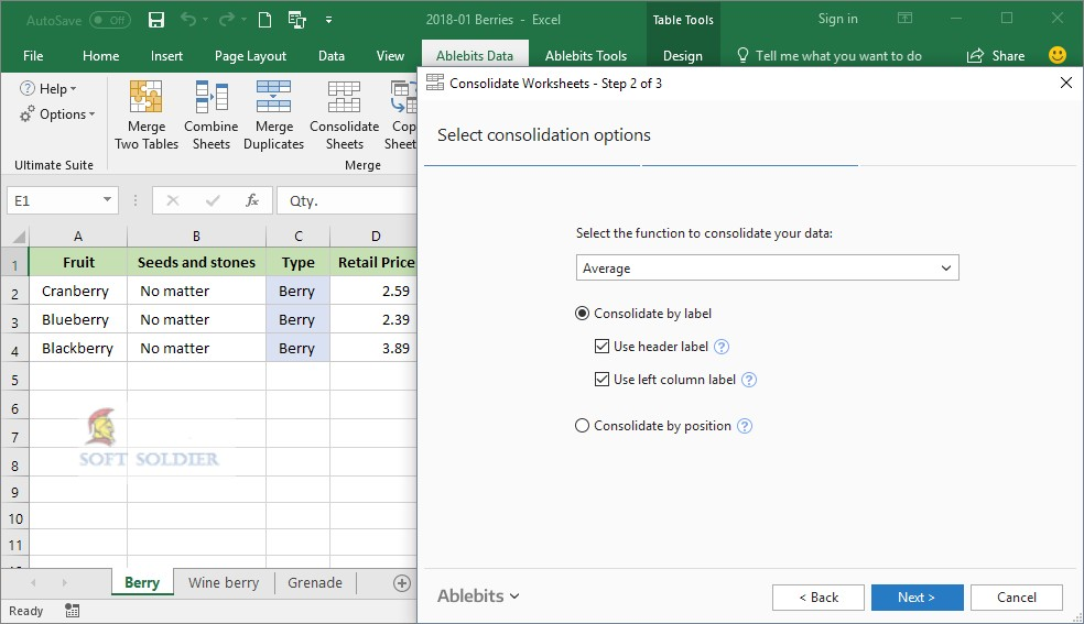 Ablebits Ultimate Suite 2014 for Microsoft Excel