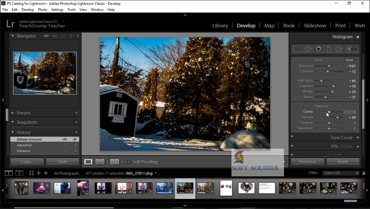 Adobe Photoshop Lightroom Classic CC 2020