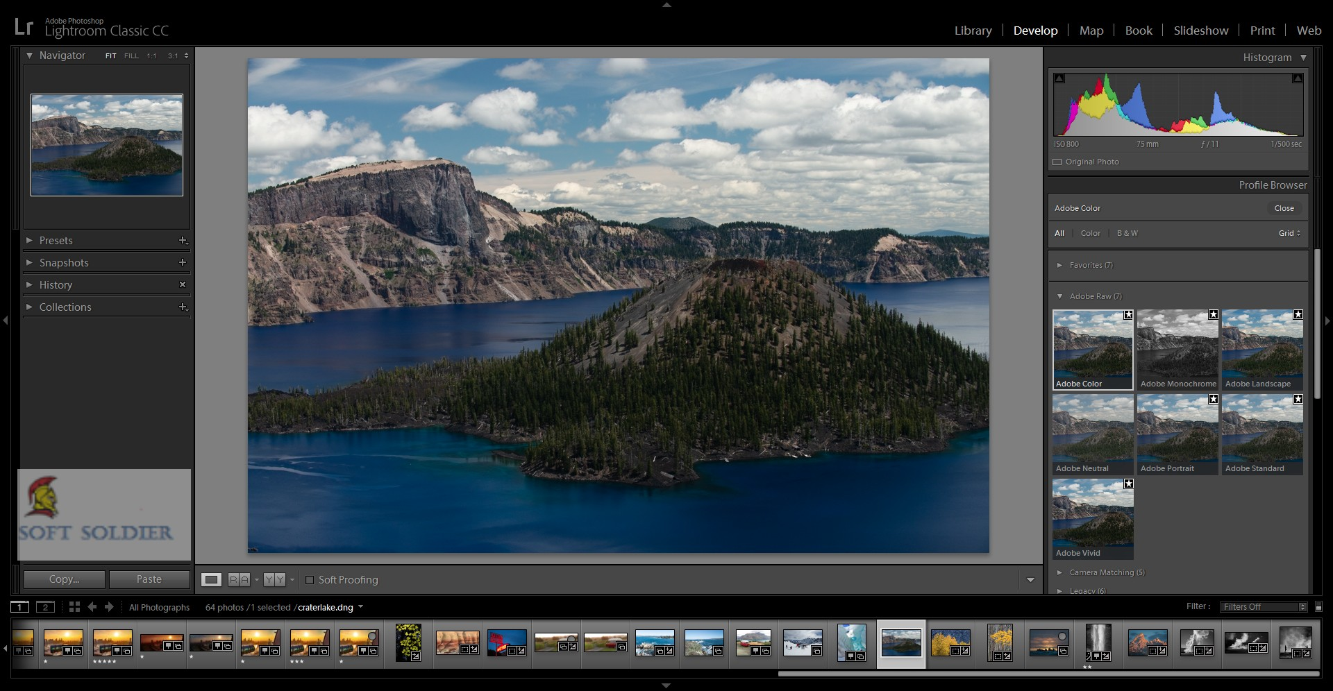 Adobe Photoshop Lightroom Classic CC