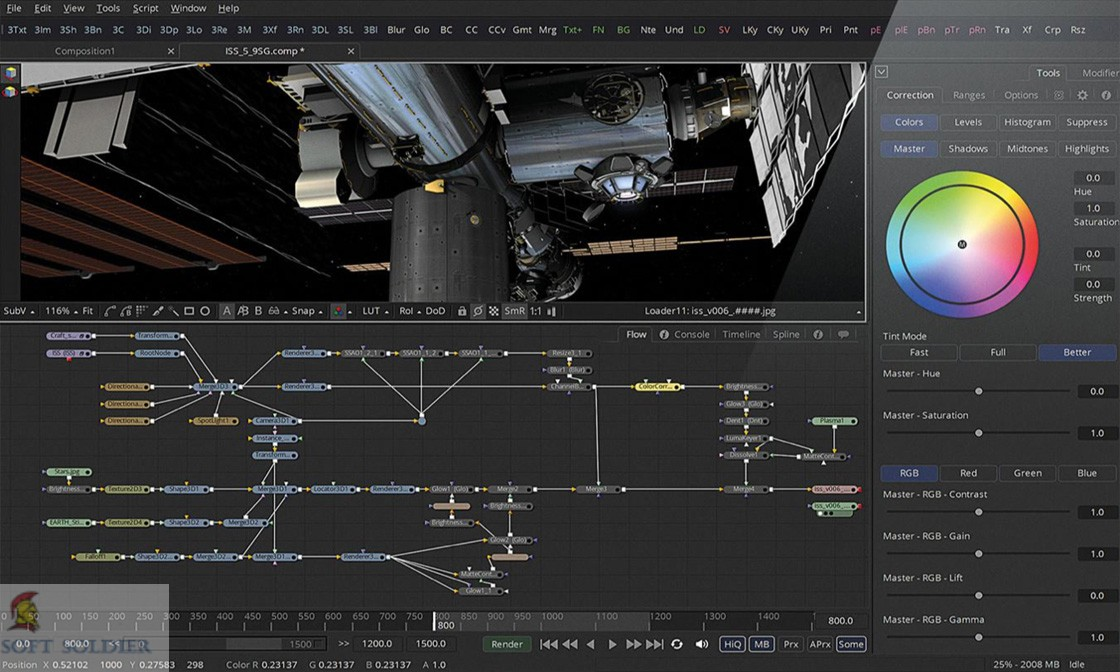 Blackmagic Design Fusion Studio 16.1
