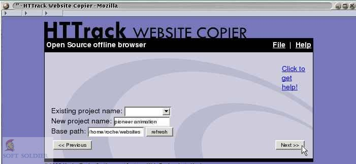 HTTrack Website Copier 2020