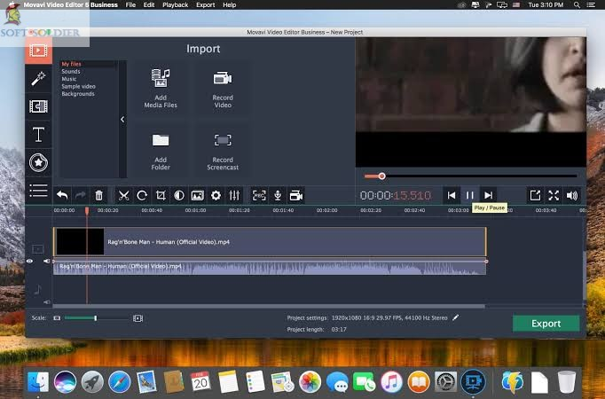 Portable Movavi Video Editor Business 2020