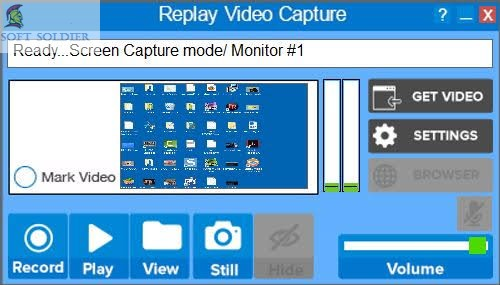 Replay Video Capture