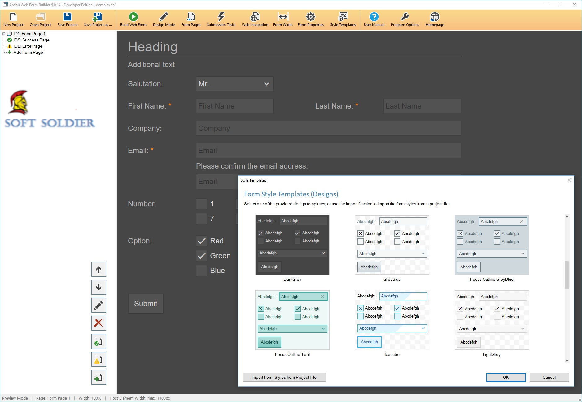 Arclab Web Form Builder 5.1