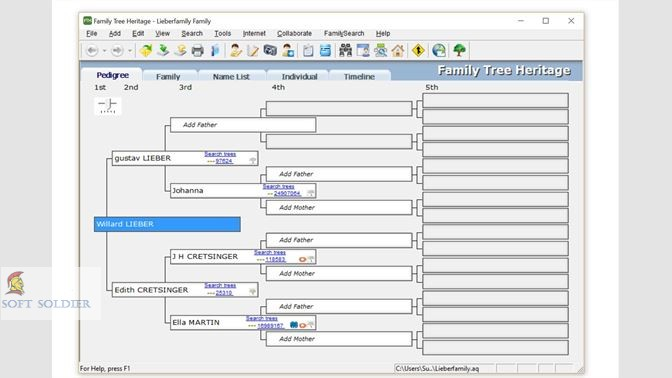 Family Tree Heritage Platinum 2020 Free Download