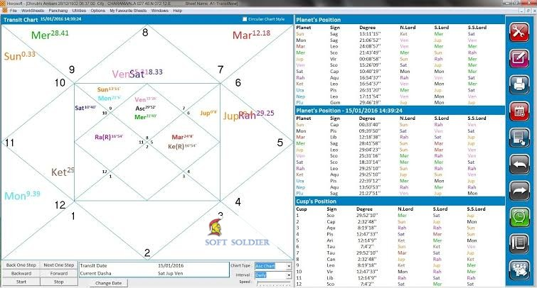 Horosoft Professional Astrology Software