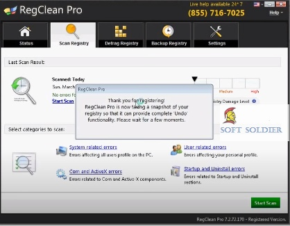 RegClean Pro 8.5 Free Download