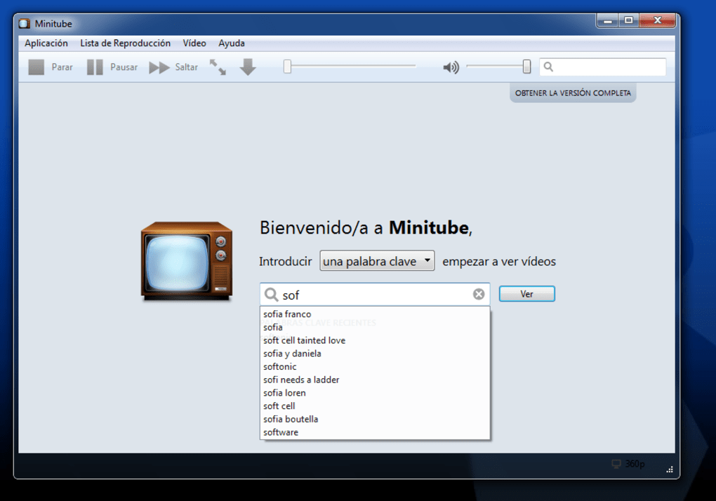 Minitube 2020 3.4 Free Download