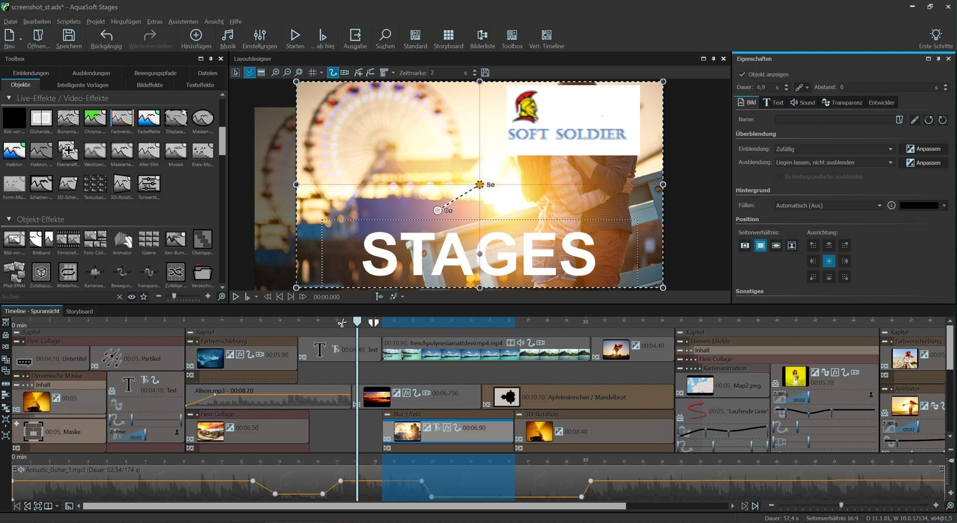 AquaSoft Stages 11.8 Free