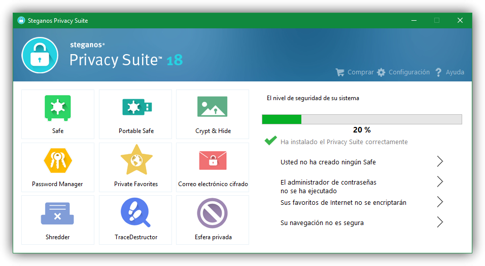Steganos Privacy Suite 22 Free
