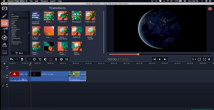 Movavi Video Editor Plus 20.0 Free