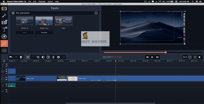Movavi Video Editor Plus 21.1 Free