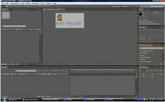 Adobe After Effects CS4 Free
