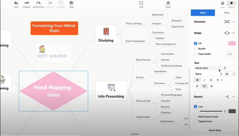 XMind 10.3 Mind Mapping Free