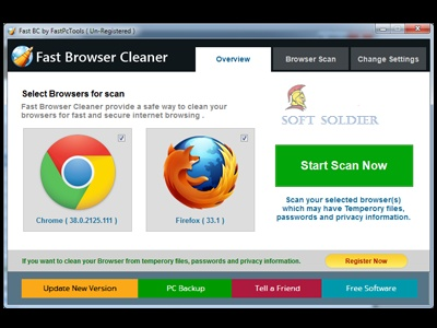 Fast Browser Cleaner 2 Free