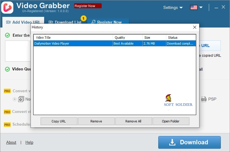 Auslogics Video Grabber Free