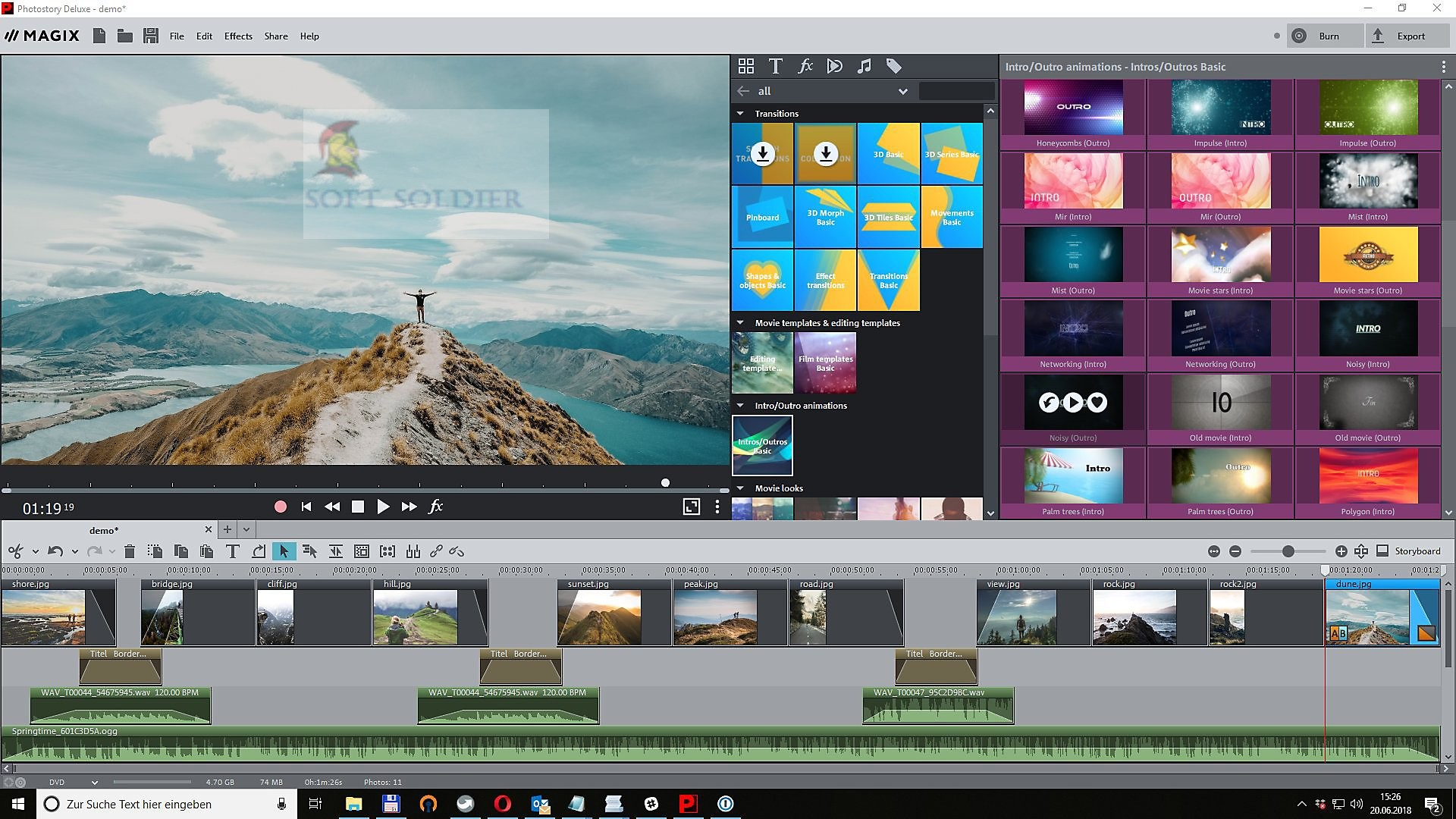 MAGIX Photostory Deluxe 2020 Free Download - Soft Soldier