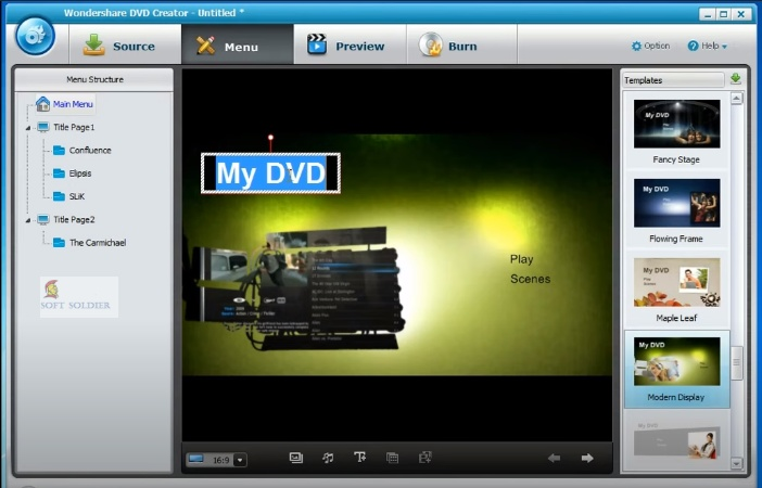 Wondershare DVD Creator 6.5 Free Download