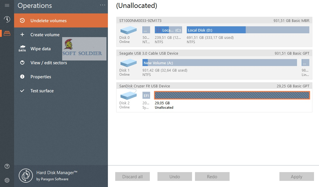 Paragon Hard Disk Manager Advanced 17 Free