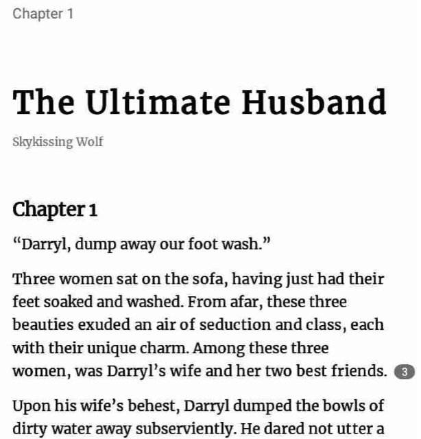 The Ultimate Husband by Skykissing wolf PDF Download Free