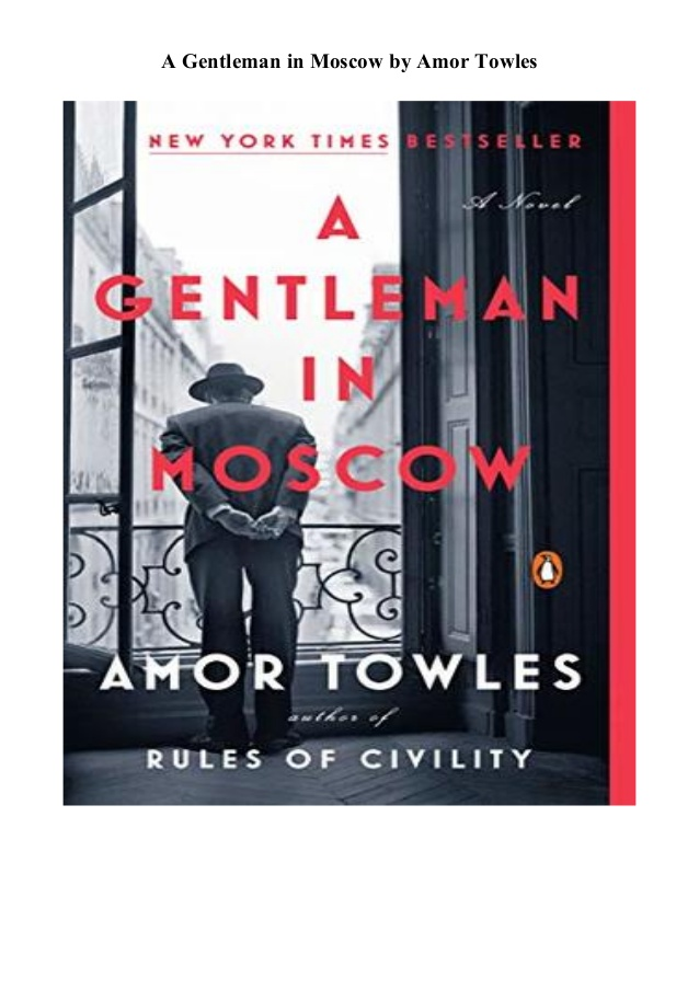 A Gentleman in Moscow by Amor Towles PDF
