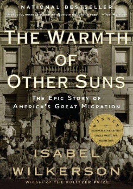 The Warmth of Other Suns by Isabel Wilkerson PDF Download