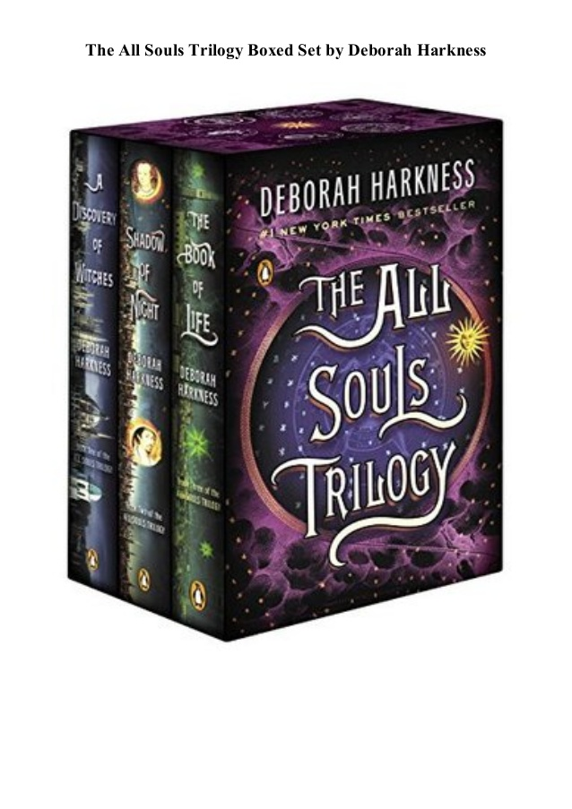 The All Souls Trilogy Boxed Set by Deborah Harkness PDF Download