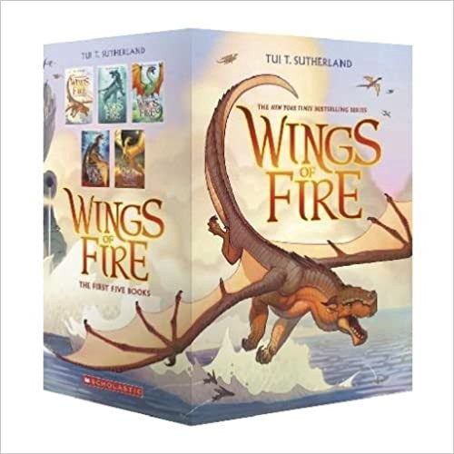 Wings of Fire Boxset by Tui T. Sutherland PDF