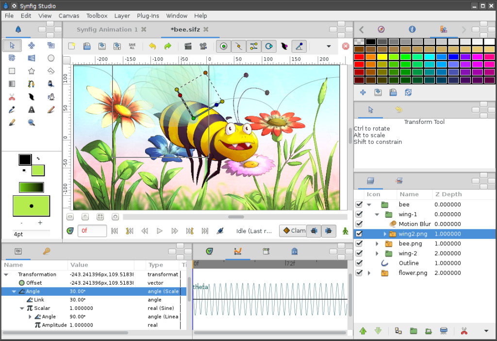 Synfig Studio Free Download