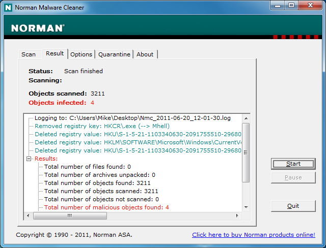 Norman Malware Cleaner 2 Free Download