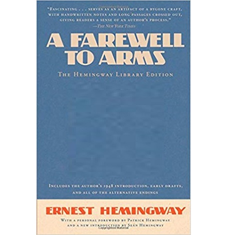 A Farewell to Arms by Ernest Hemingway ePub Download